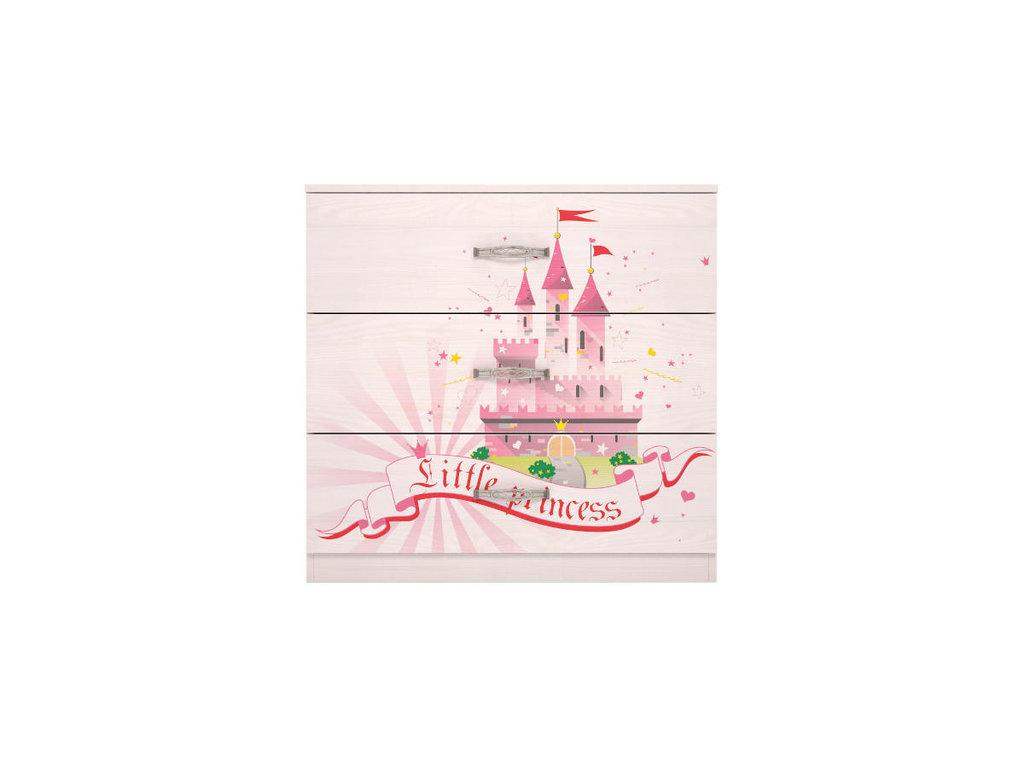 Комоды детские: Комод 03 Принцесса в Стильная мебель