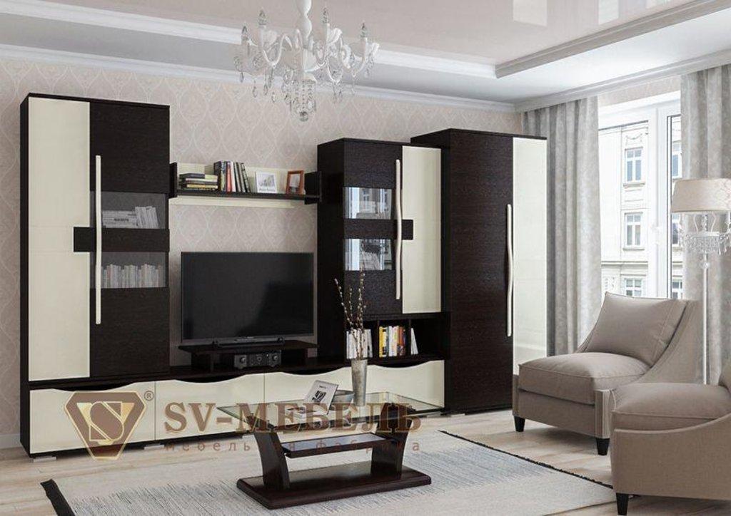 Мебель для гостиной Нота-26: Витрина Нота-26 в Диван Плюс