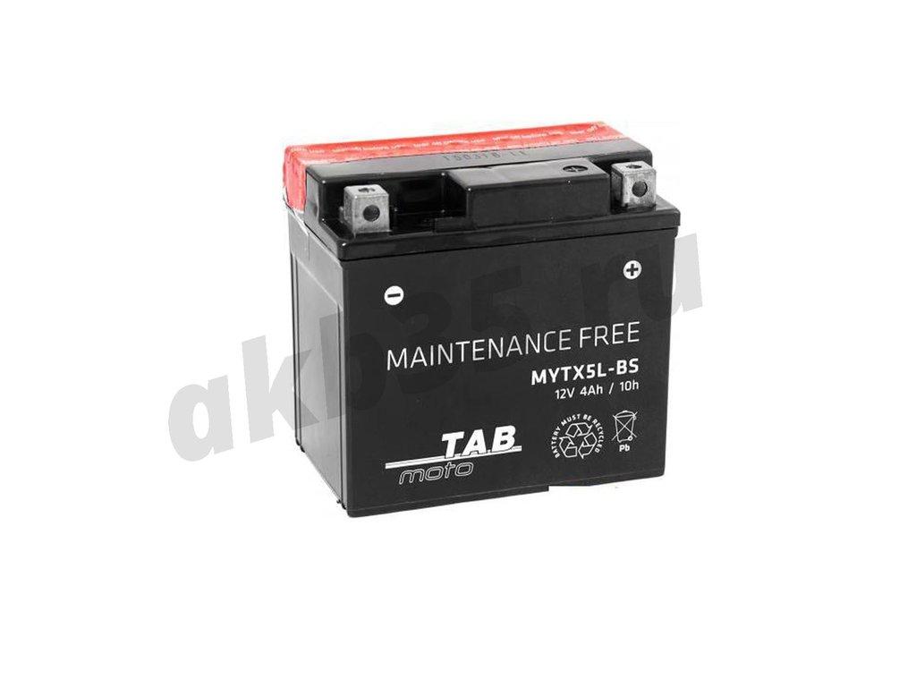 Аккумуляторы: TAB 6СТ-4 а/ч MYTX5L-BS в Планета АКБ
