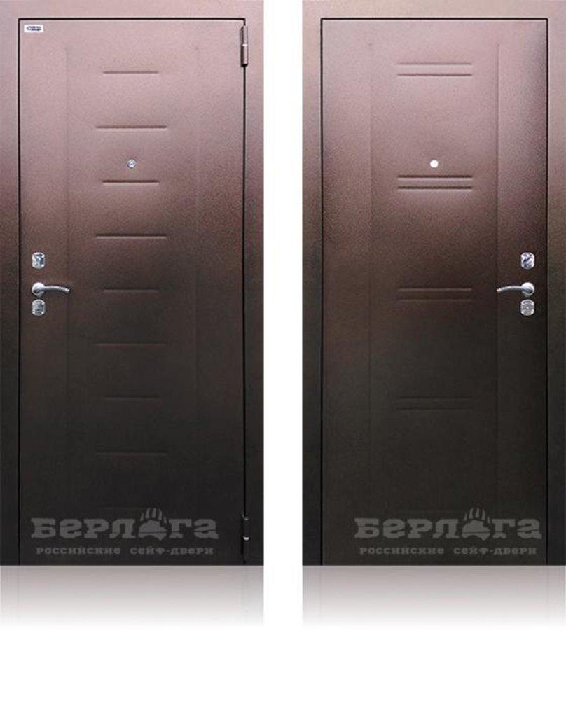 Двери Берлога: Сейф-дверь СБ-90 уличная в Двери в Тюмени, межкомнатные двери, входные двери