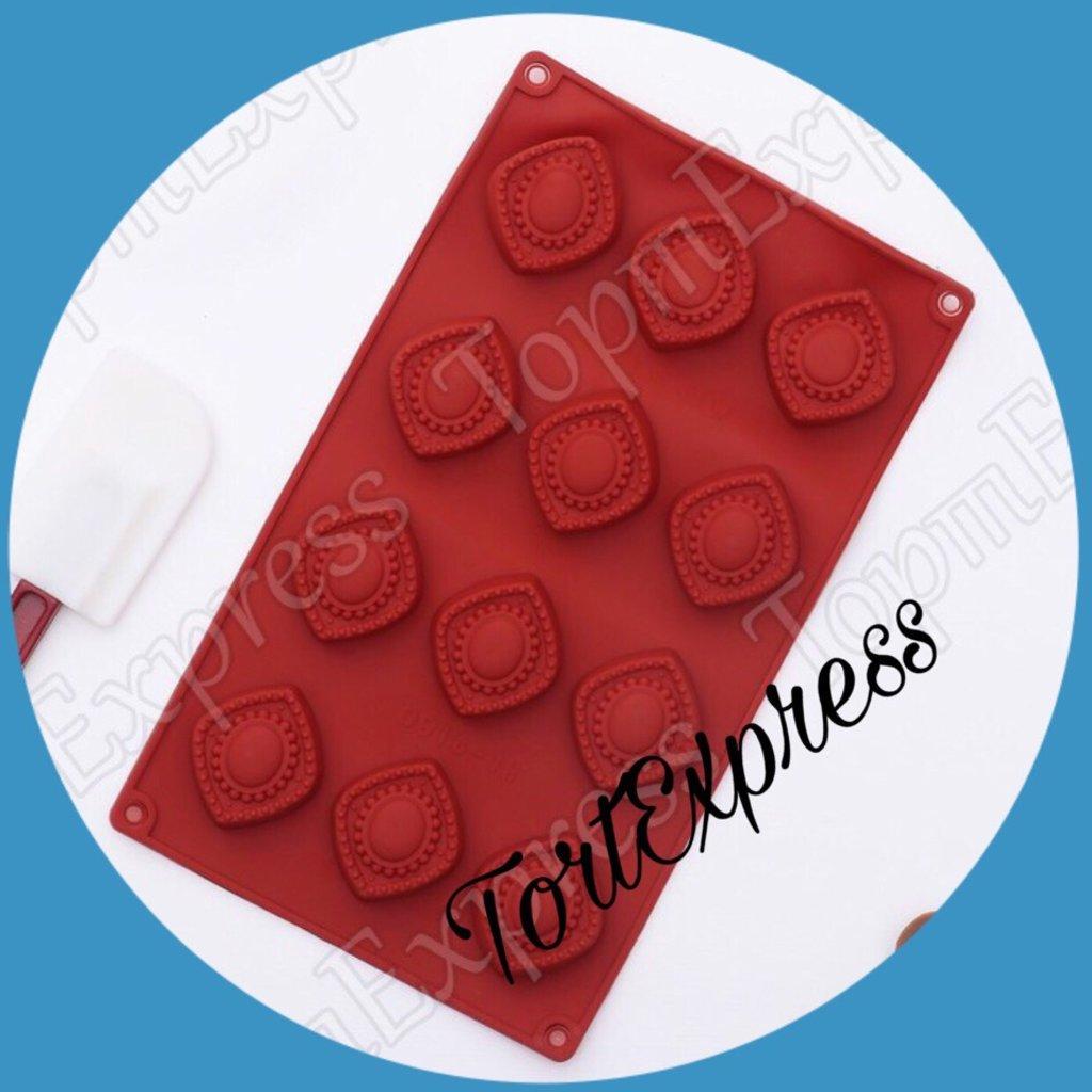 Силиконовые формы для льда, шоколада и мармелада: Форма для льда и шоколада в ТортExpress
