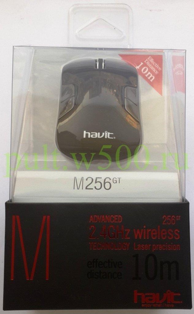 Мышки, клавиатуры, коврики, стилусы: Мышь беспроводная HAVIT HV-MS256GT USB, black в A-Центр Пульты ДУ