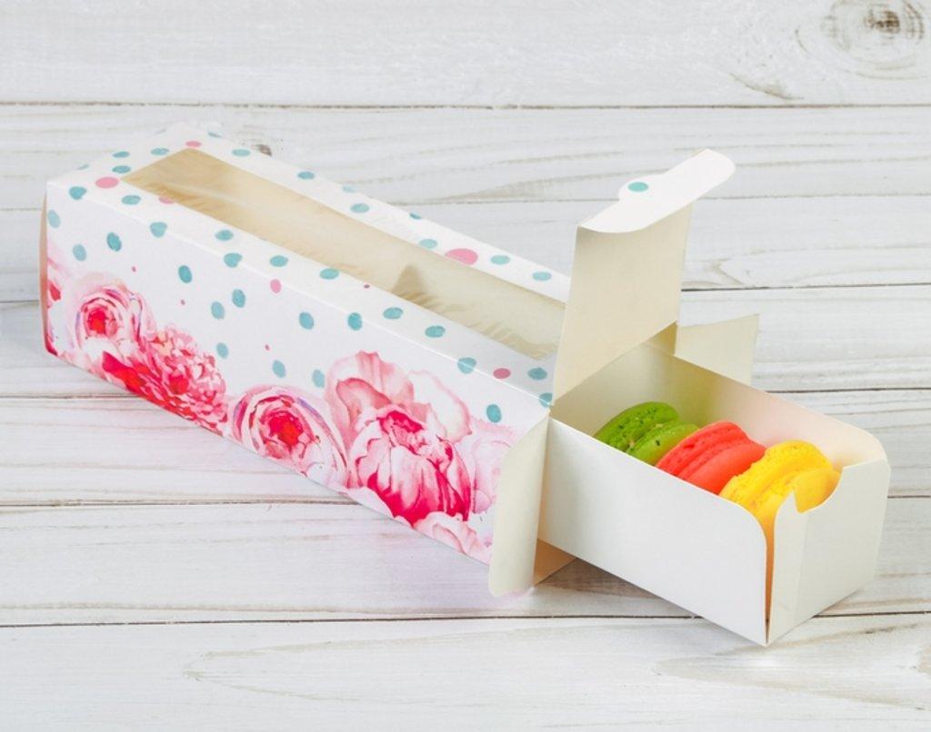 Упаковка: Коробка для макарун  Для самой прекрасной в ТортExpress