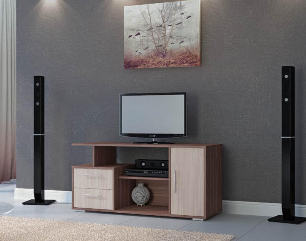 Тумбы и стойки под телевизор и аппаратуру: ТВ тумба Лацио (Линаура) в Стильная мебель