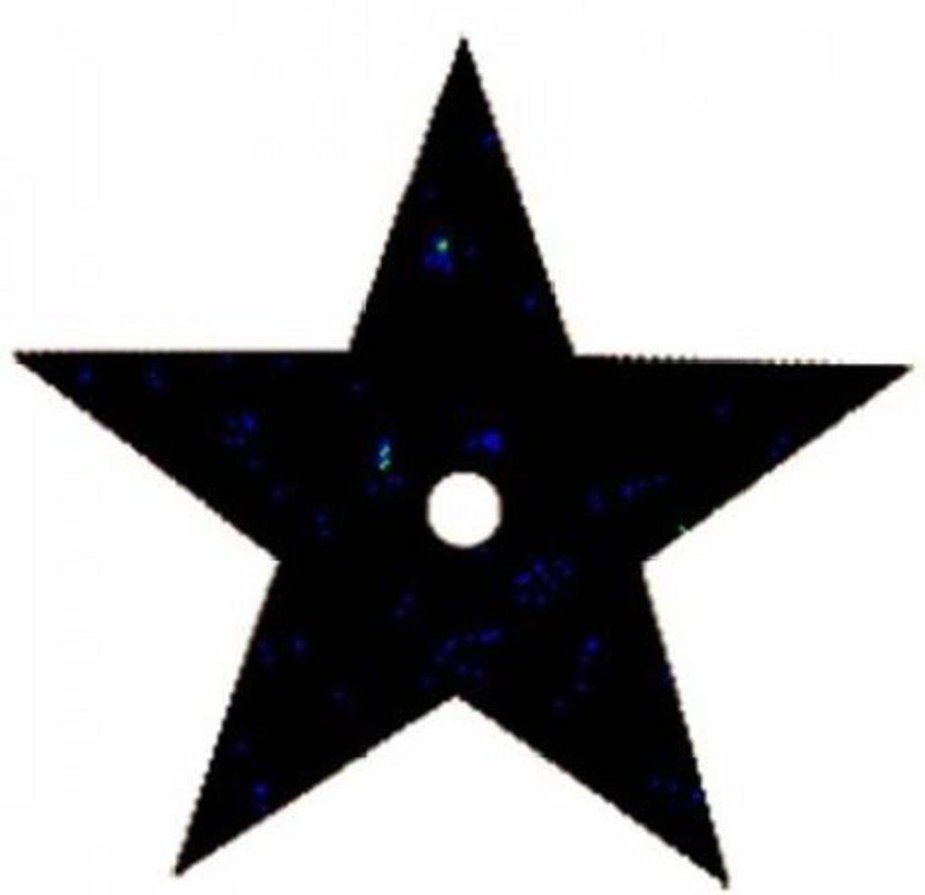 Звездочки: Пайетки звездочки 20мм.,упак/10гр.Астра(цвет:А50 черный голограмма) в Редиант-НК