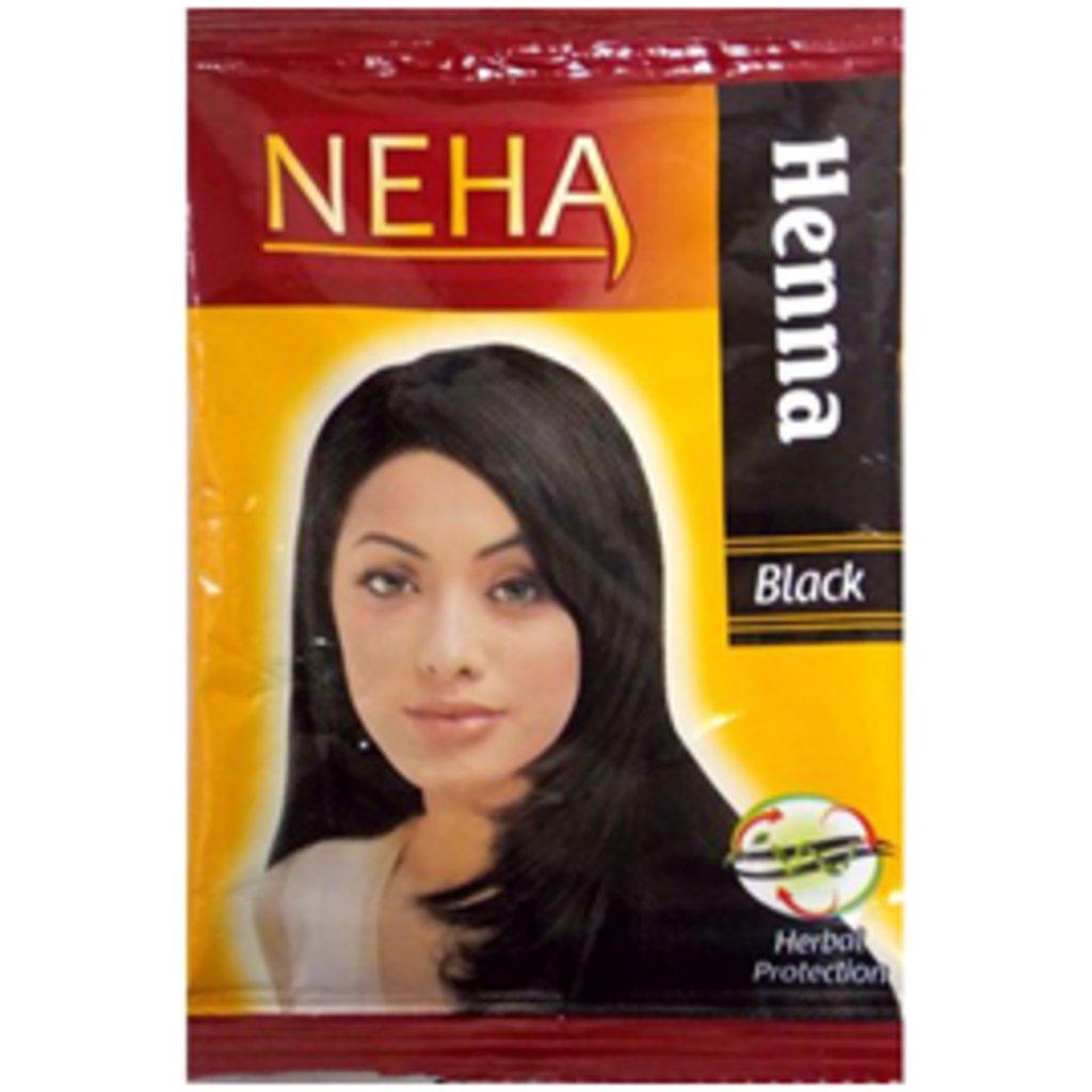 Хна для волос: NEHA Henna Black Хна натуральная Черная в Шамбала, индийская лавка