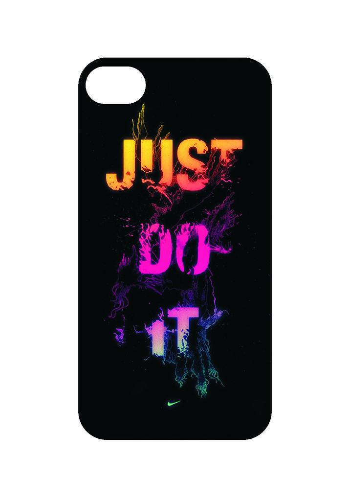 Выбери готовый дизайн для своей модели телефона: Just do it в NeoPlastic
