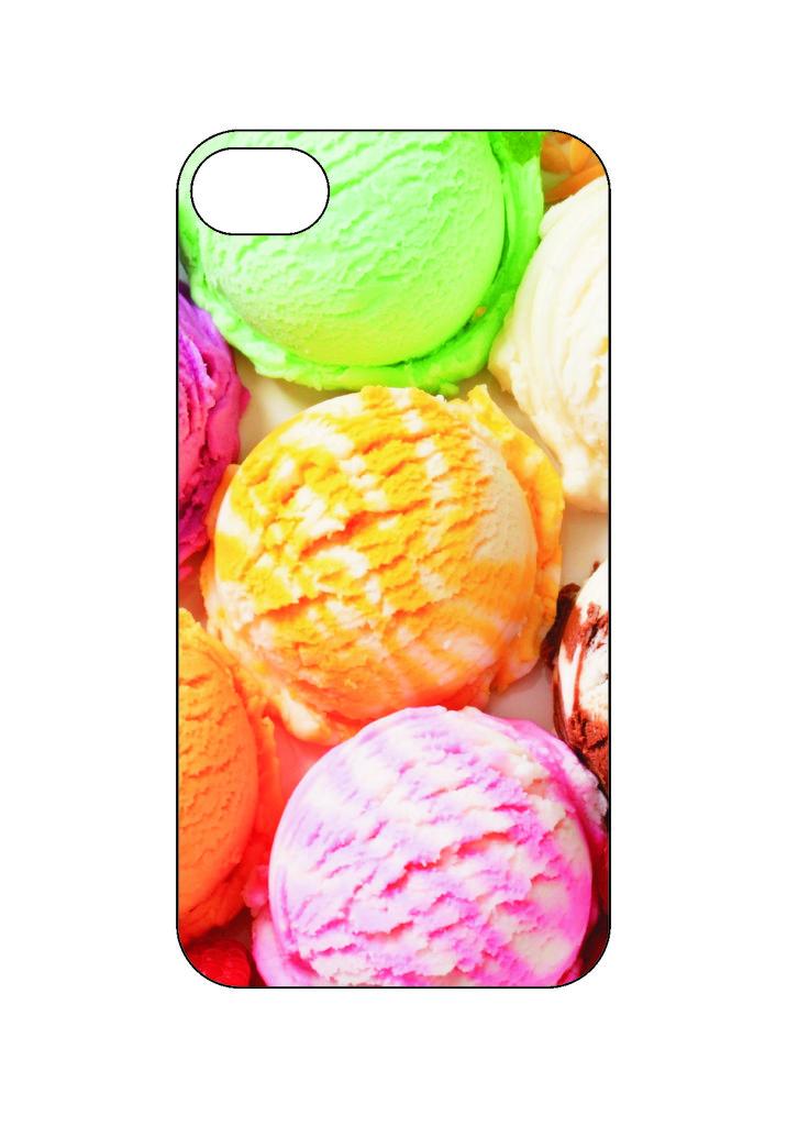 Выбери готовый дизайн для своей модели телефона: Мороженное в NeoPlastic