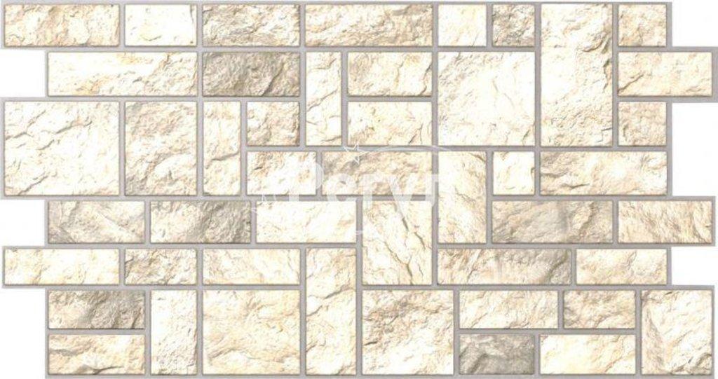 Панели ПВХ: Камень Пиленый серый в Мир Потолков
