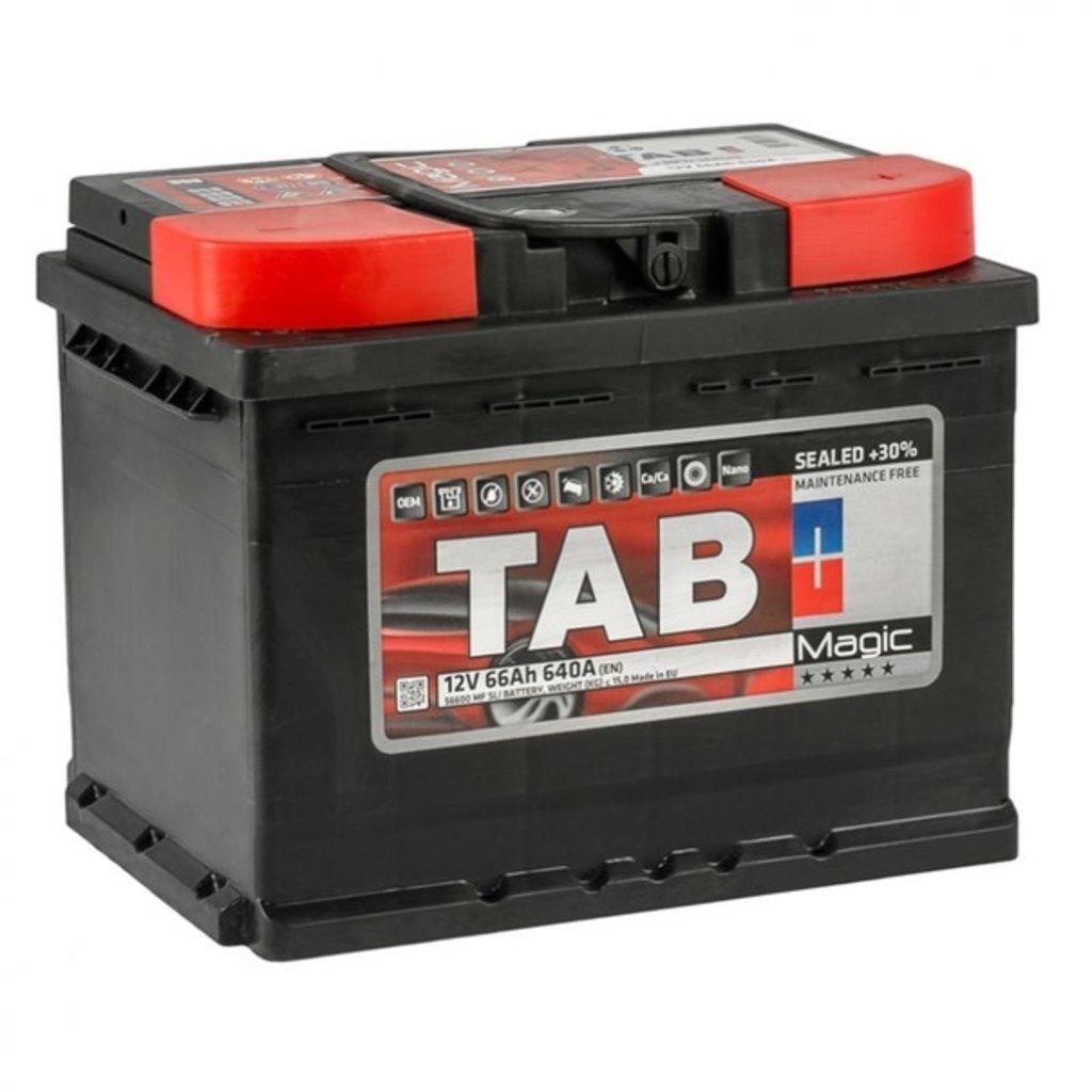 TAB: TAB MAGIC 6СТ- 66 в БазаАКБ