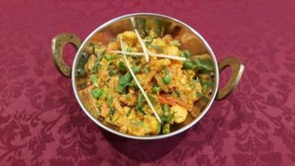 Горячие блюда: Кадай панир в Ganga