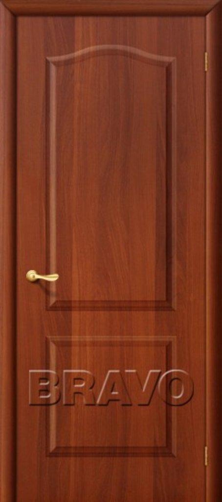 Двери ламинированные BRAVO: Палитра Л-11 (ИталОрех) в STEKLOMASTER
