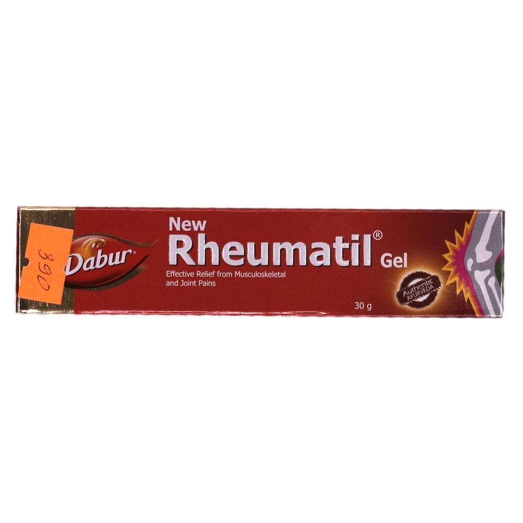 Товары для здоровья: New Rheumatil Gel (Dabur) в Шамбала, индийская лавка