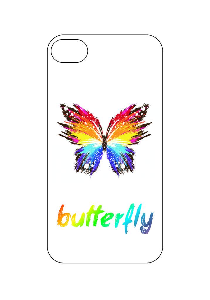 Выбери готовый дизайн для своей модели телефона: Бабочка в NeoPlastic