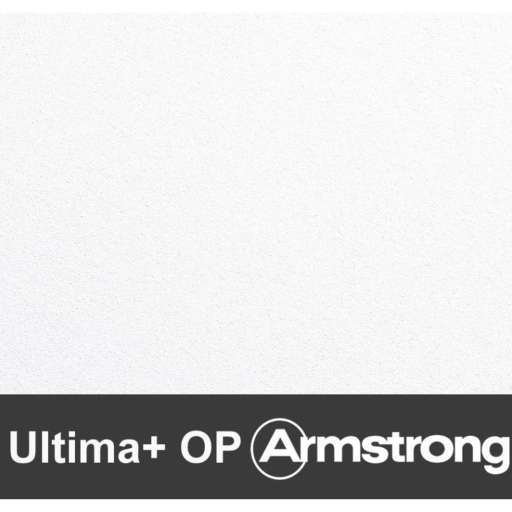 Потолки Армстронг (минеральное волокно): Акустическая потолочная панель ULTIMA plus OP Tegular 600x600x20 (Ультима плюс ОП Тегулар) арт.BP2862M4 в Мир Потолков