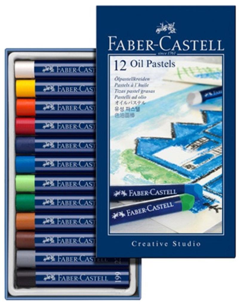 Пастель: Масляная пастель FABER-CASTELL STUDIO QUALITY 12 цветов в Шедевр, художественный салон