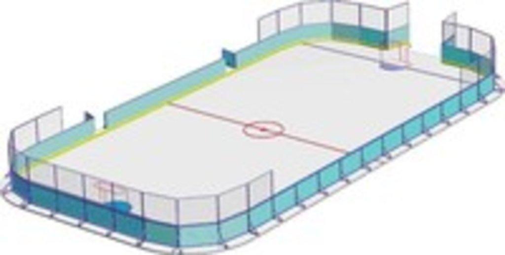 Хоккейный корт: Хоккейный корт 60*30 м. в Спарта