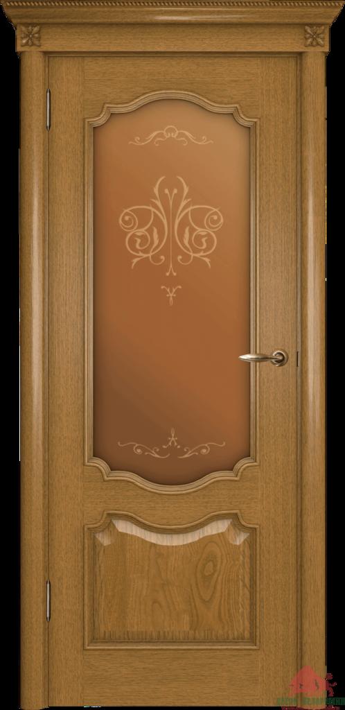 Двери Белоруссии  шпонированые: Престиж (каштан) в STEKLOMASTER