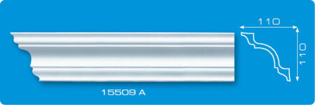 Плинтуса потолочные: Плинтус потолочный ЛАГОМ 15509 А экструзионный длина 2м в Мир Потолков