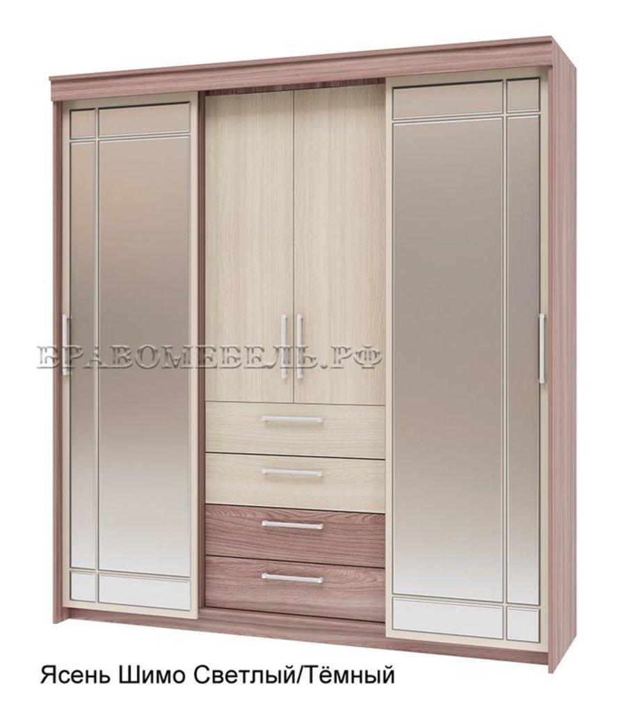 Шкафы-купе: Шкаф-купе распашной Хилтон-2 для платья и белья в Уютный дом