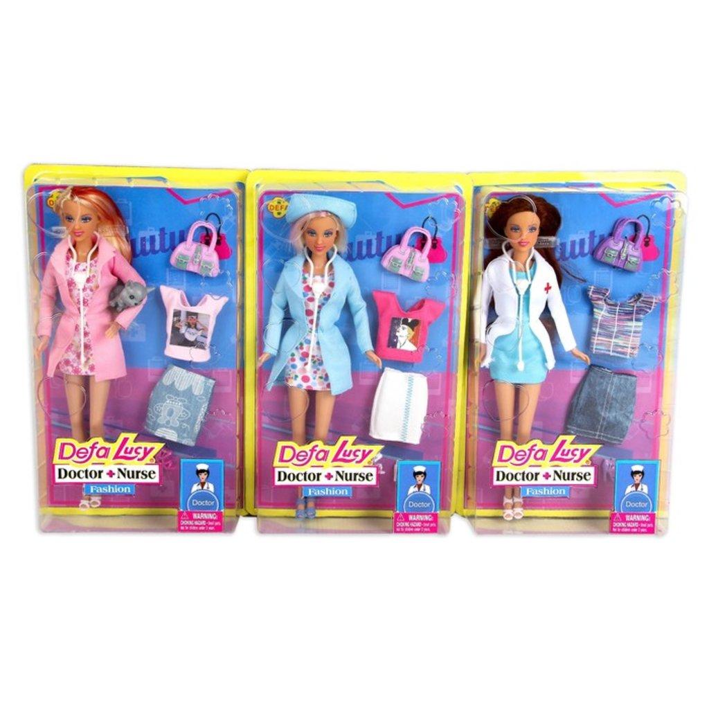 """Игрушки для девочек: Кукла """"Доктор""""Defa"""" в ассортименте в Игрушки Сити"""