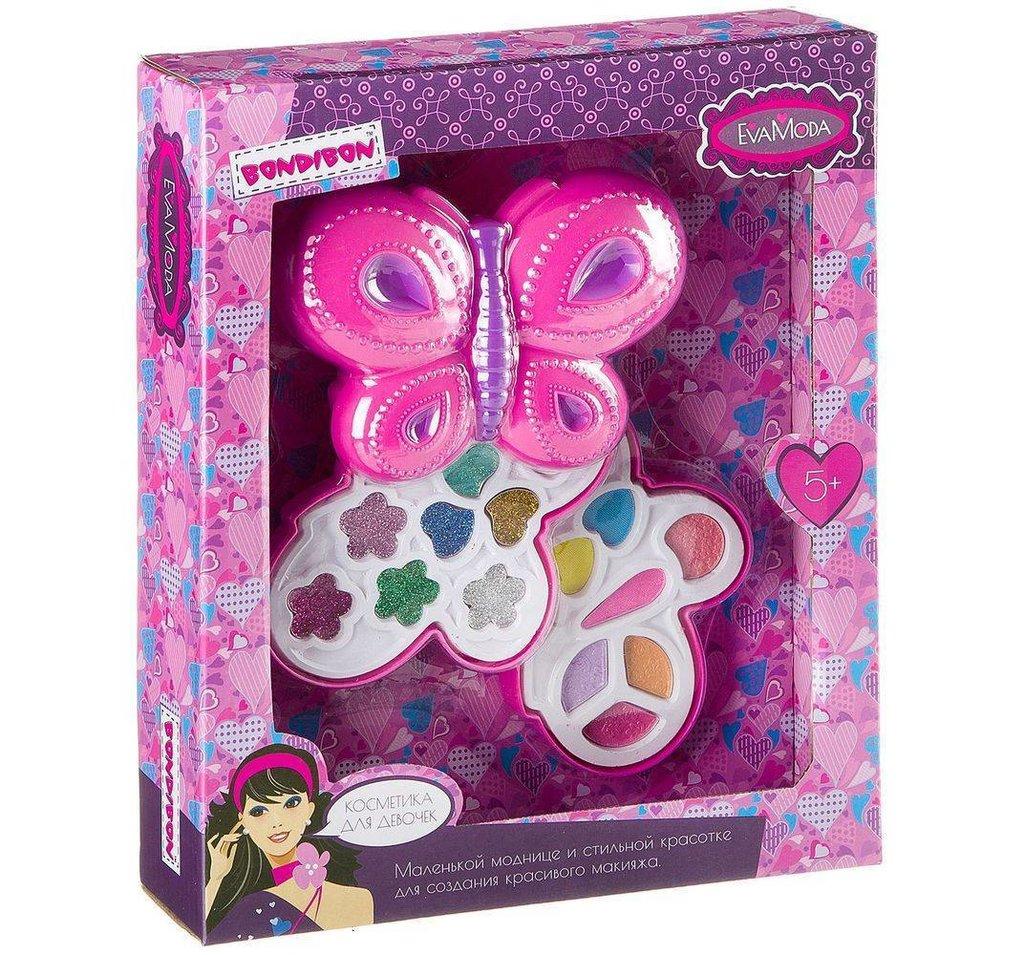 Игрушки для девочек: Bondibon  Eva Moda Набор детской декоративной косметики 10227F3 28.5х23.5х6см в Игрушки Сити