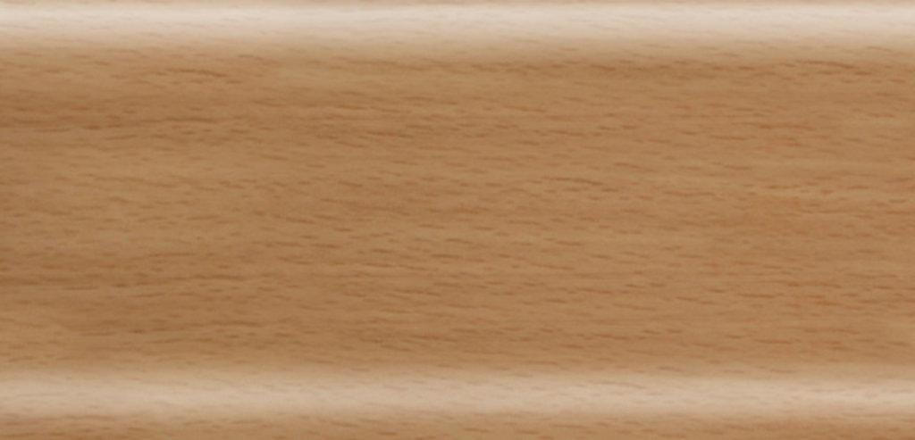 Плинтуса напольные: Плинтус Rico Leo № 155 бук натуральный /40 в Мир Потолков