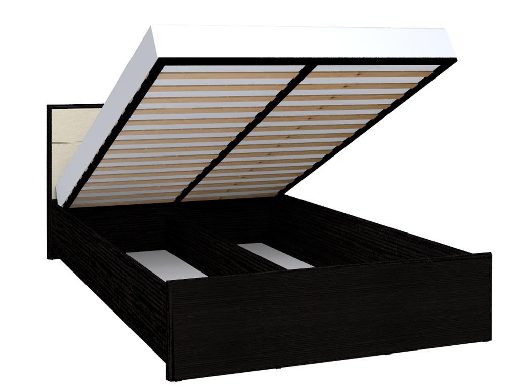 Кровати: Кровать Люкс АМЕЛИ 201 (1600, мех. подъема) в Стильная мебель