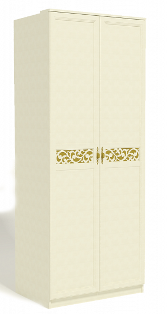 Спальня Ливадия. Комплект 3: Ливадия Л5 Шкаф для одежды (штанга,2 полки) в Диван Плюс