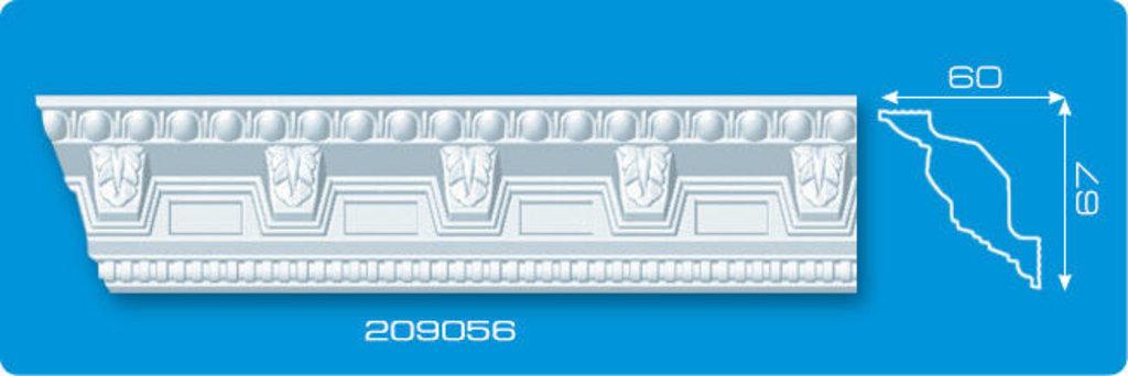Плинтуса потолочные: Плинтус потолочный ФОРМАТ 209056 инжекционный длина 2м в Мир Потолков