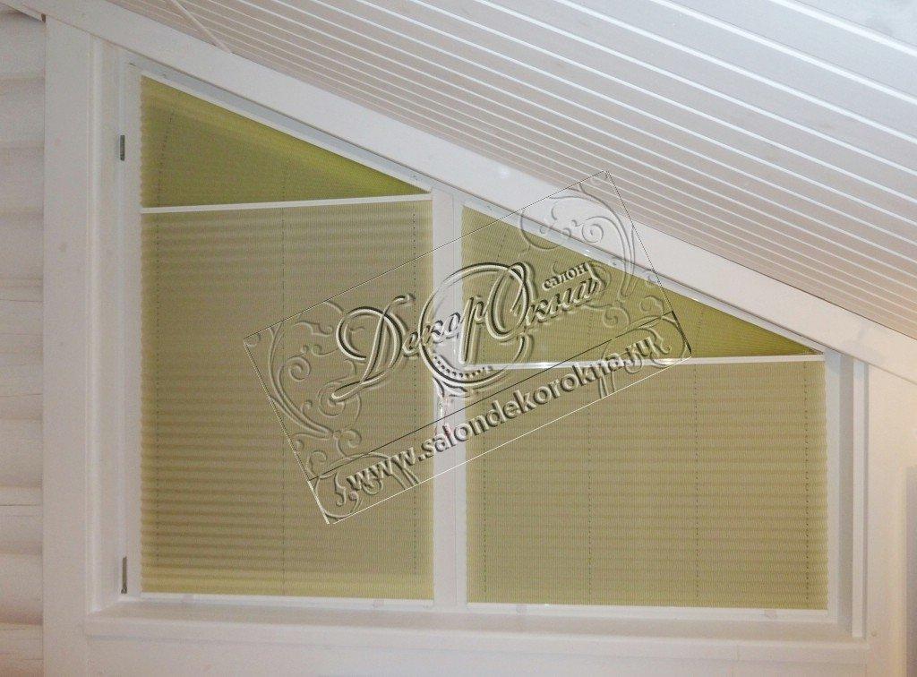 Плиссе: Плиссе для окон сложной формы в Декор окна, салон