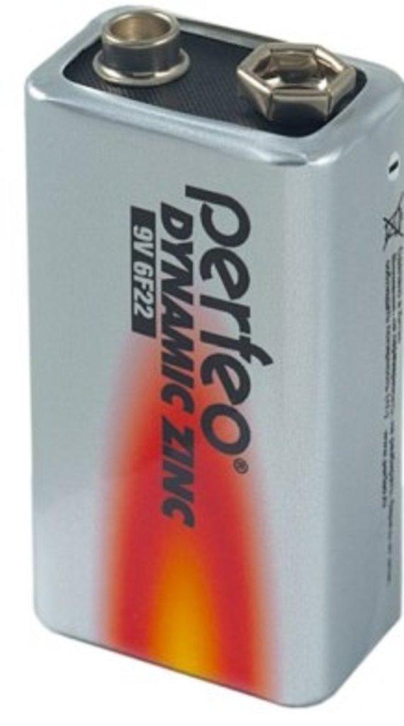 Батарейки.: Батарея 6F22 Perfeo ( 10 в кор. ) (1SH) в A-Центр Пульты ДУ