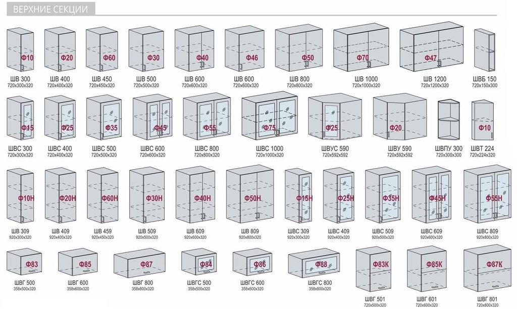 Кухни: Модульная система для кухни Верона в Диван Плюс