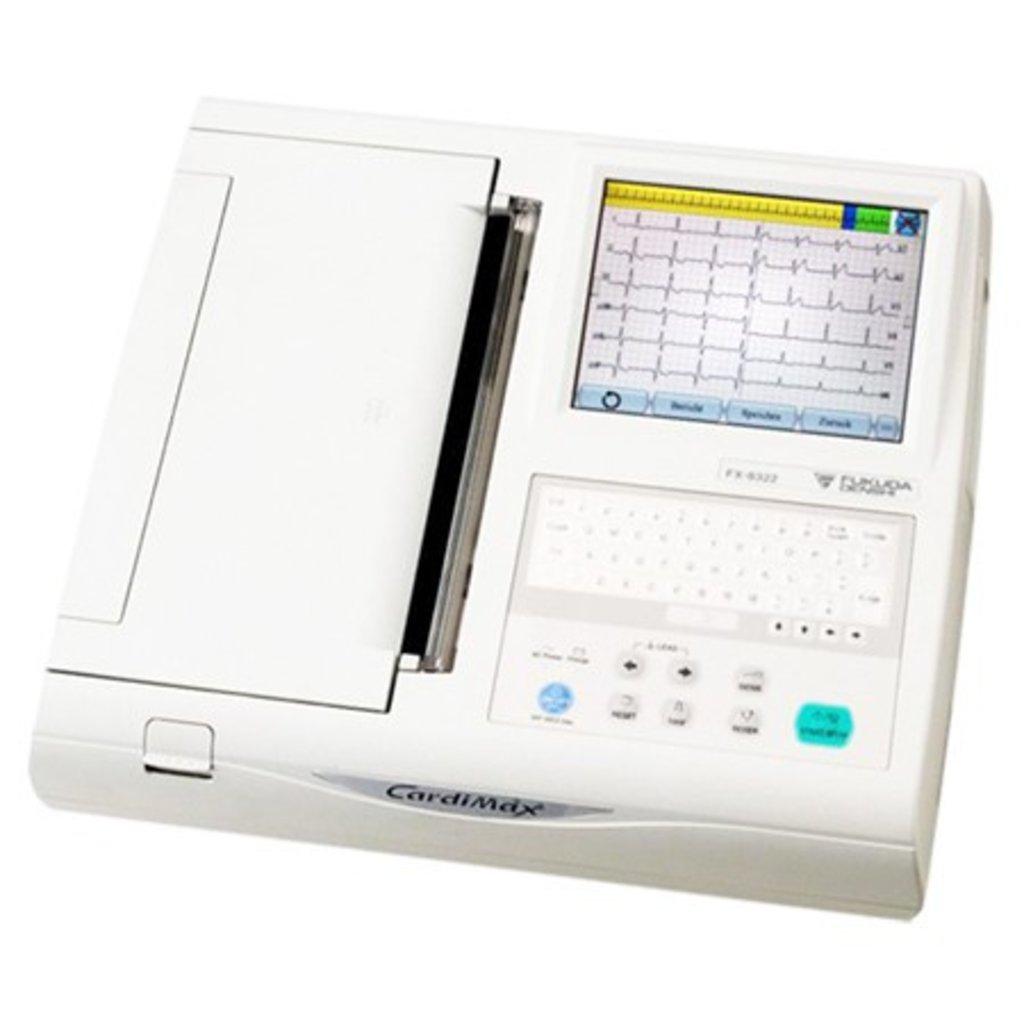 Электрокардиографы: Электрокардиограф Fukuda CardiMax FX-8322R в Техномед, ООО