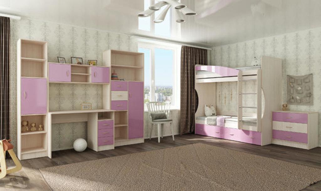 Мебель для детской Буратино. Модульная серия.: Кровать 2х ярусная Буратино в Уютный дом