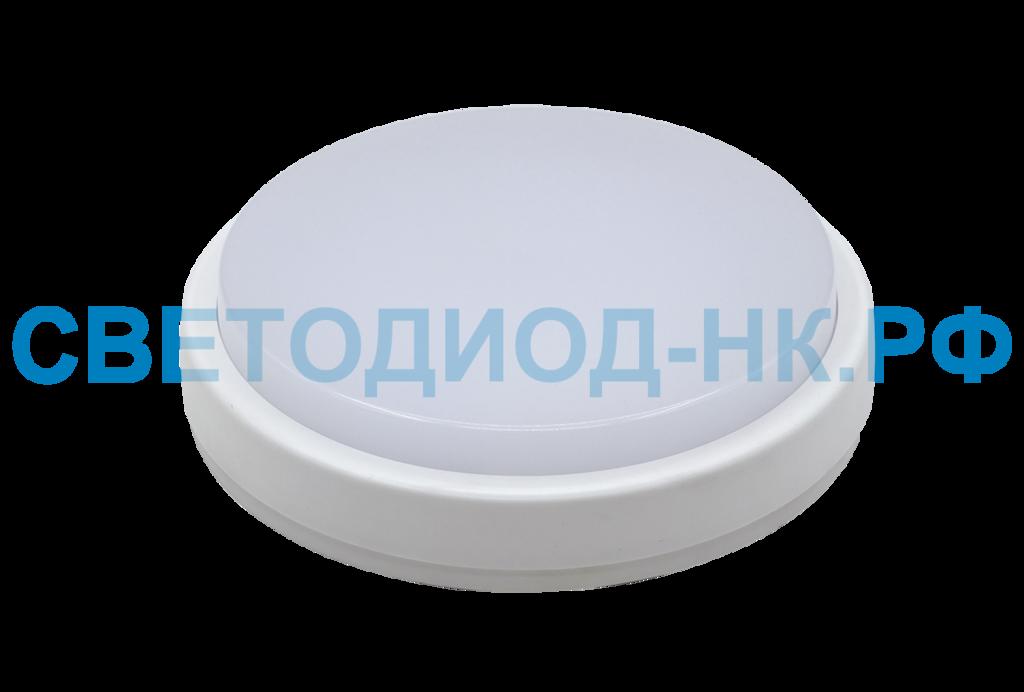 Светильники ЖКХ: Светильник LED СПП 2101 8Вт 230В 4000К 640Лм IP65 160мм КРУГ в СВЕТОВОД