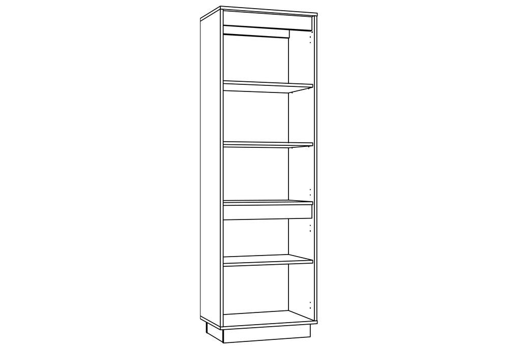 Шкафы, общие: Шкаф для посуды VIRGINIA НМ 011.82 в Стильная мебель