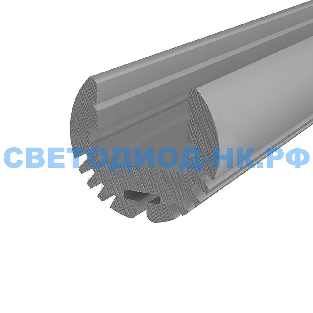 Алюминиевый профиль: Rexant Профиль круглый алюминиевый 17-2, 2м, 146-236 в СВЕТОВОД