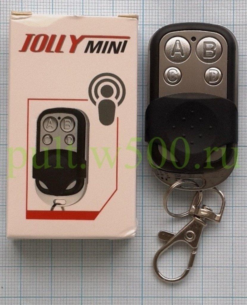 Пульты для шлагбаумов, ворот: Пульт Apollo JOLLY MINI  ( 4-канальный унивeрсальный брелок, частота 433 МГц заменят CAME и другие ) в A-Центр Пульты ДУ