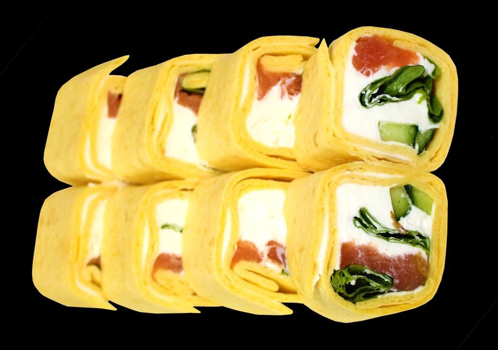 Роллы: Тортилья с копченой семгой в Restorant SH