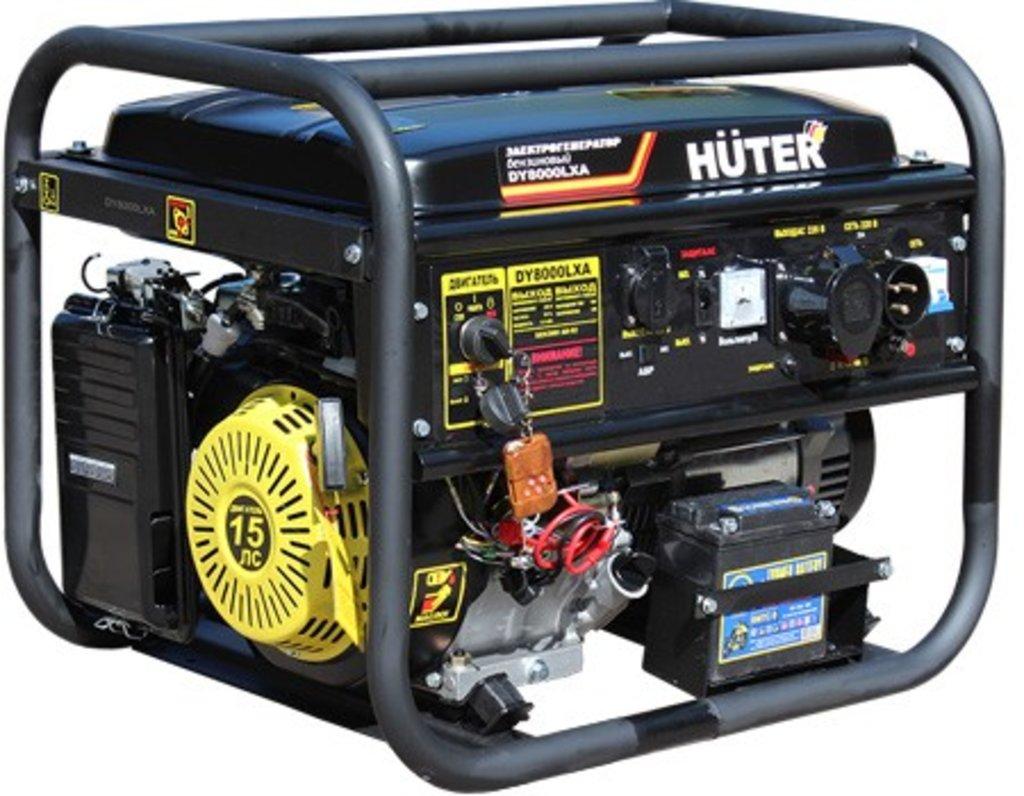 Портативные бензогенераторы: Портативный бензогенератор HUTER DY8000LXA в РоторСервис, сервисный центр, ИП Ермолаев Д. И.
