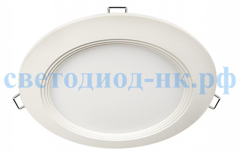 Встраиваемые светодиодные светильники: Панель светодиодная круглая RLP-eco 24Вт 230В 4000К 1440Лм 300/285мм белая IP40  IN HOME в СВЕТОВОД