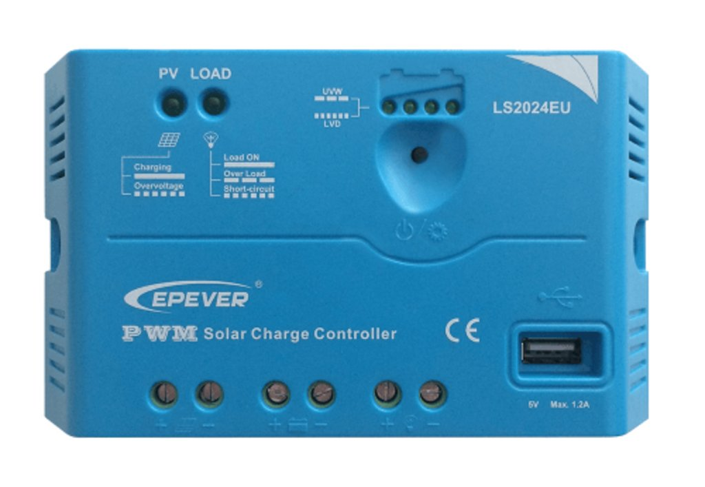 ШИМ контроллеры: Контроллер заряда EPSolar LS2024EU в Горизонт