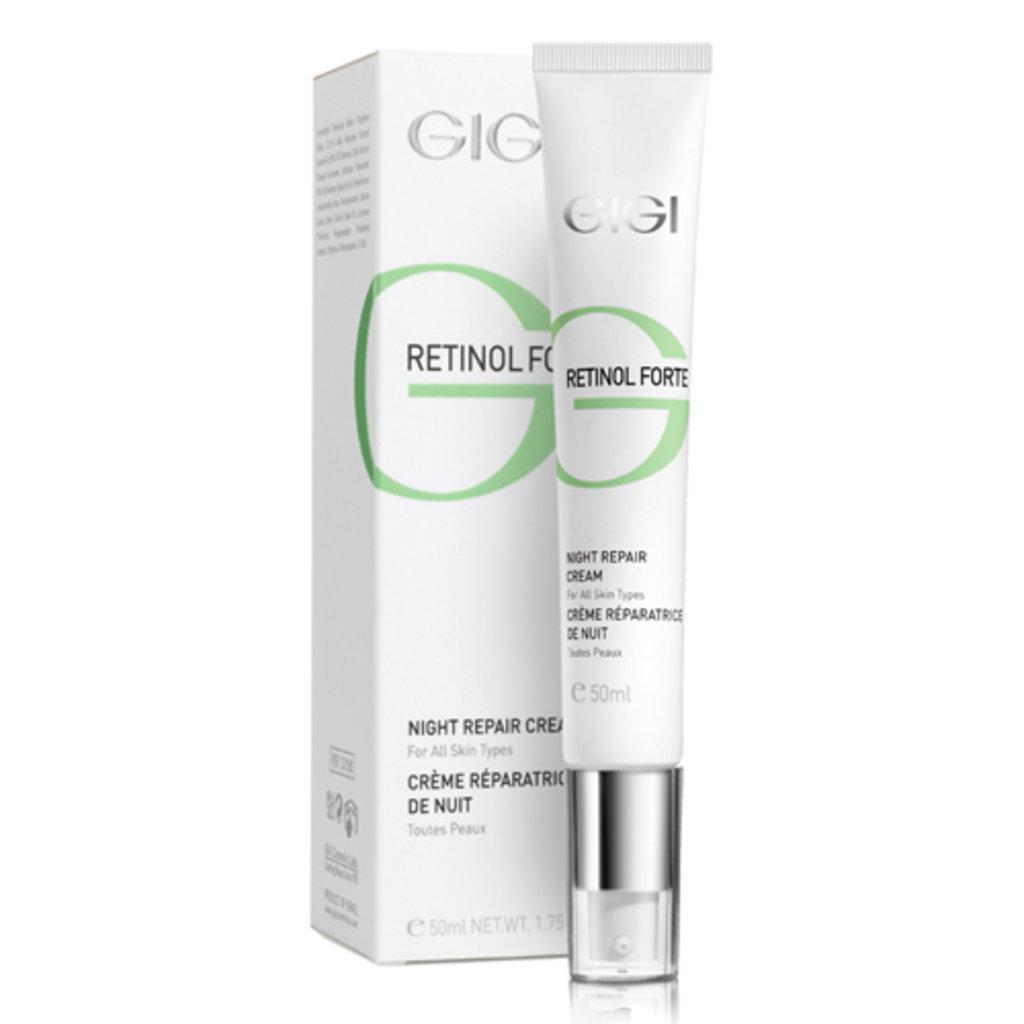Крема: Ночной восстанавливающий крем / Night Repair Cream, Retinol Forte, GiGi (Джи Джи) в Косметичка, интернет-магазин профессиональной косметики