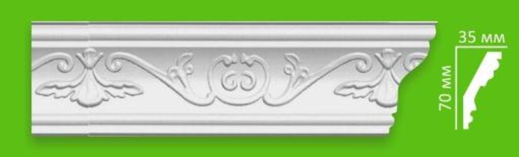 Плинтуса потолочные: Плинтус потолочный Dekor EK D 102/80 в Мир Потолков