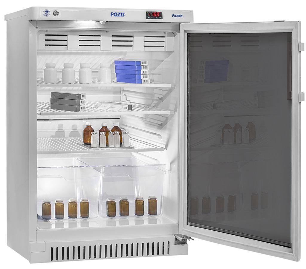 Холодильники: Холодильник фармацевтический Позис ХФ-140-1 (дверь тон. стекло) в Техномед, ООО