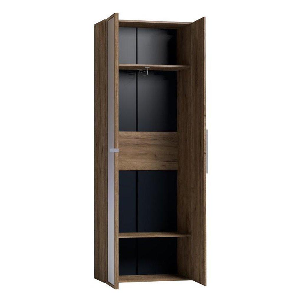 Детские шкафы и стеллажи: Шкаф для одежды Nature 92 (Зеркало Контур+Стандарт) в Стильная мебель