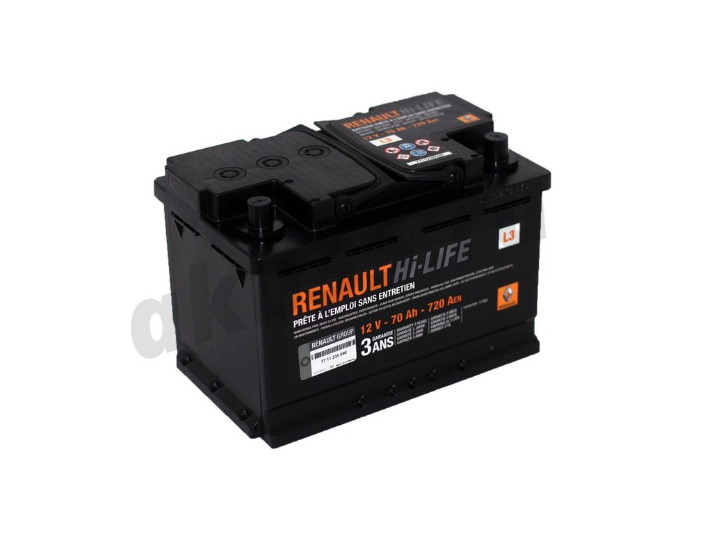 Аккумуляторы: Renault 6СТ-70 А/ч /О.П./ L3 720A в Планета АКБ