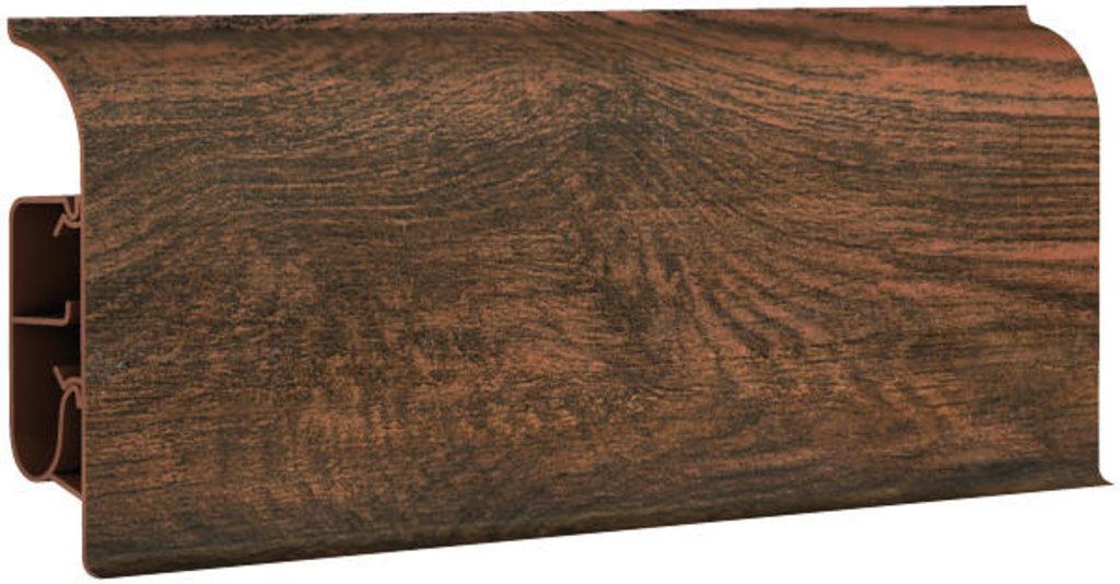 Плинтуса напольные: Плинтус напольный 85  8541 дуб мокко в Мир Потолков