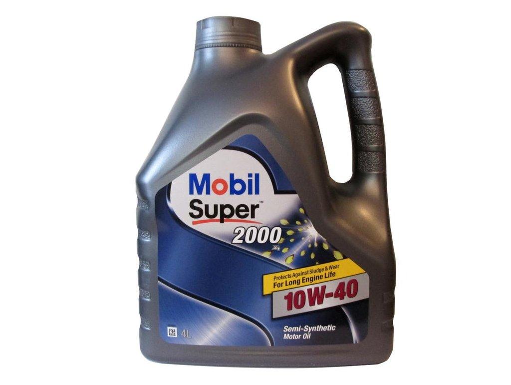 Автомасла Mobil: Mobil SUPER 2000 X1 10W-40 (4.0 л х 4) в Автомасла71